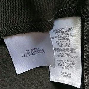 Anne Klein Skirts - Anne Klein belted black pencil skirt 8